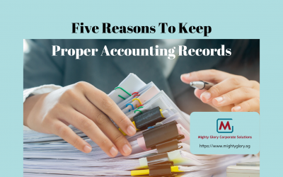 Five Reasons To Keep Proper Accounting Records