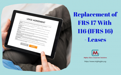 Replacement of FRS 17 With 116 (IFRS 16): Leases