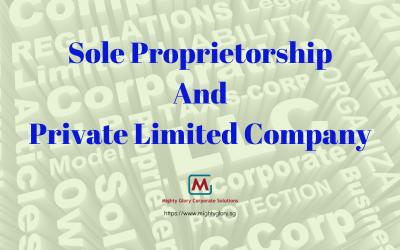 Sole Proprietorship And Private Limited Company