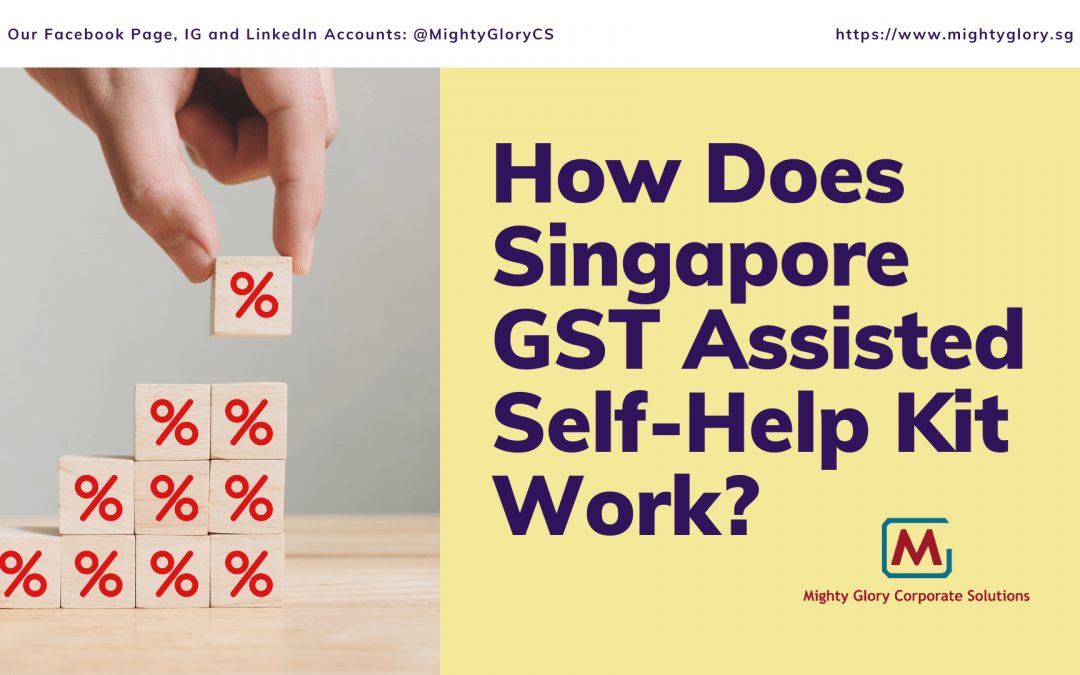 Singapore GST Assisted Self Help Kit
